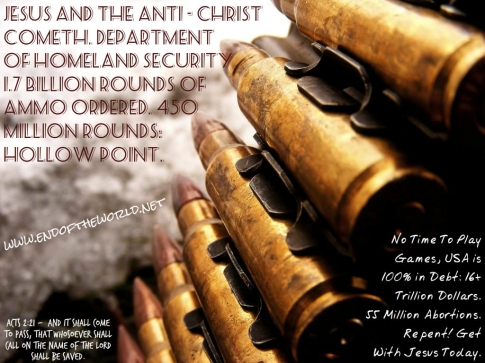 Dept of Homeland Security --- Jesus Return Could Be Soon