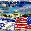 End of The World/Rapture - DEF CON 1 Watch ! The Feast of Trumpets in 2015 could be important. (Peace with Israel though, may be or is the most important determinant)