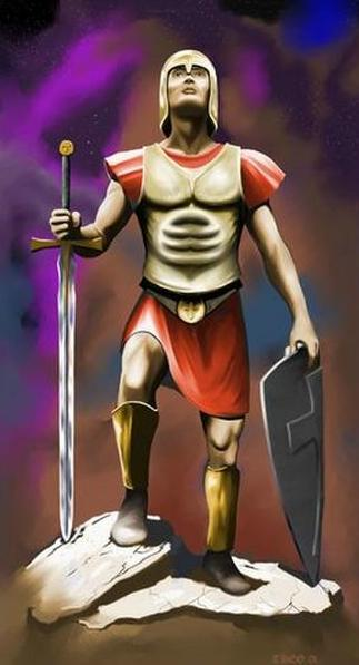 the armor of god. Put on the Whole ARMOUR of GOD