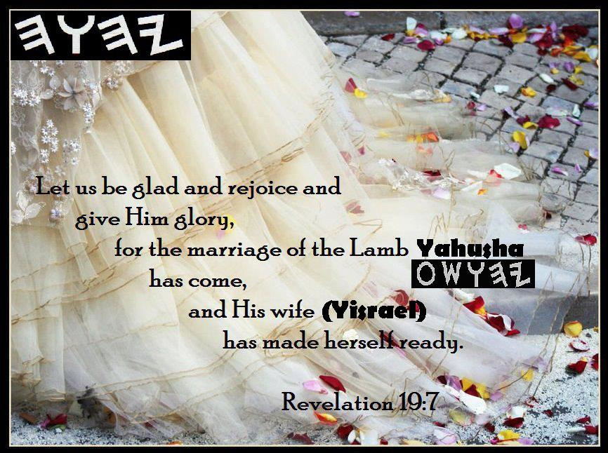 Yahshua The Bridegroom's Return For His Bride The Church Could Be